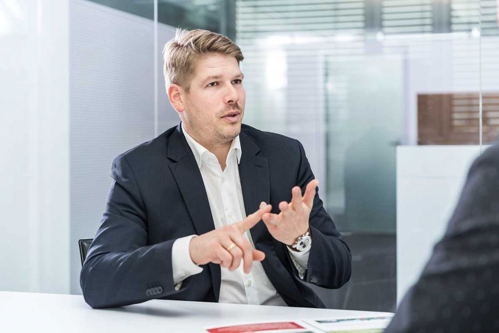 Under Discussion – Josef Liegl Managing Director redserve
